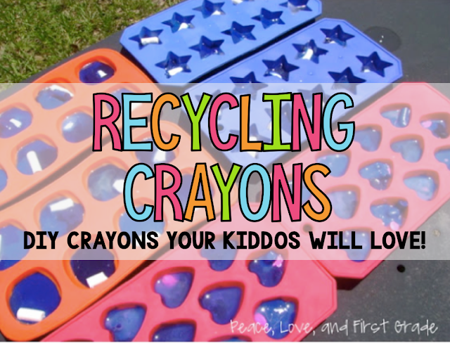 How to melt crayons into fun shapes