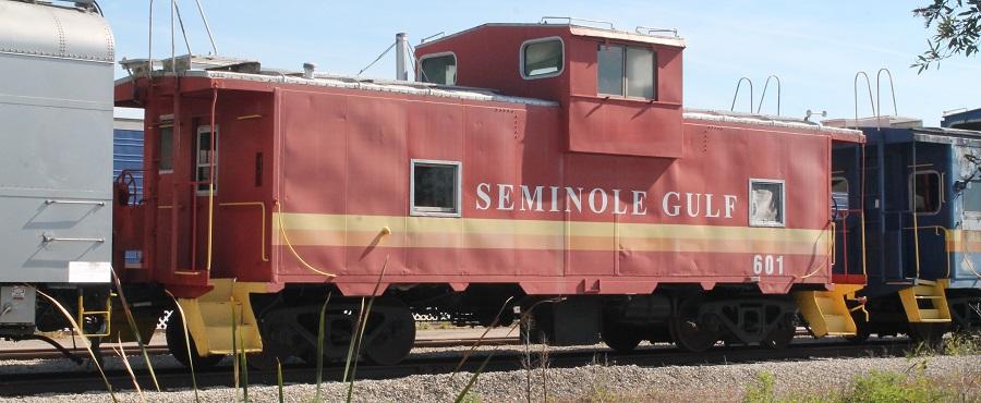 Caboose del Seminole Gulf Railway