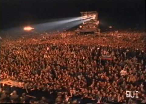 Metallica moscow 1991 crowd