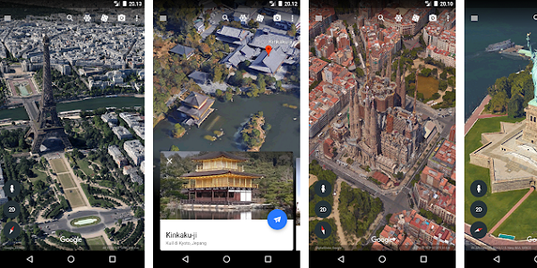 Aplikasi GPS Google Earth
