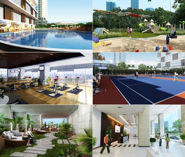 Hệ thống tiện ích dự án chung cư Tân Hoàng Minh Giảng Võ