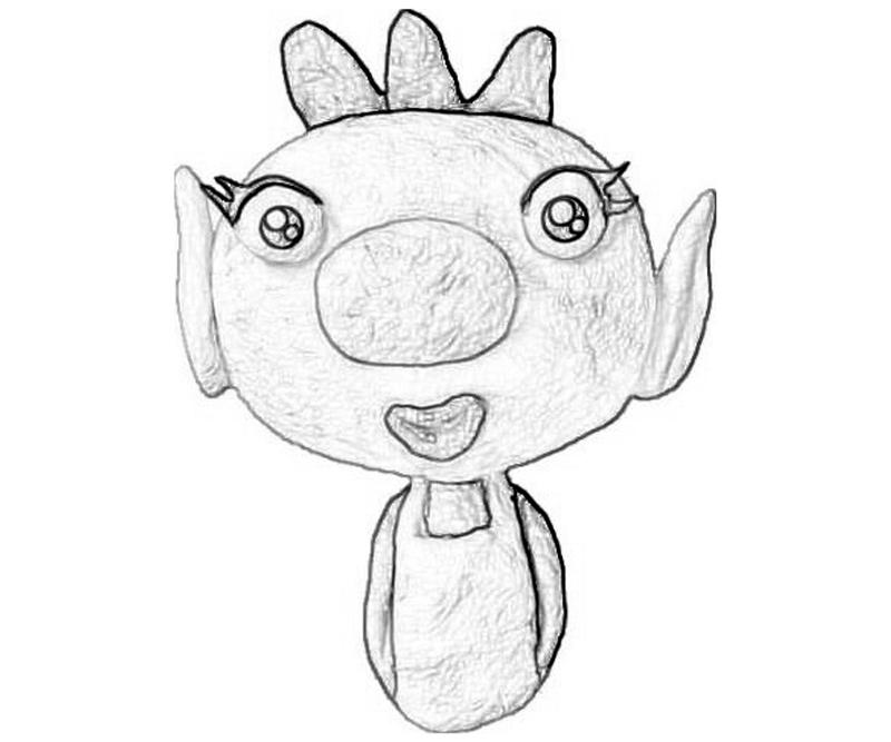 pikmin bulborb coloring pages - photo#14