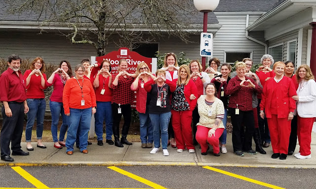 Progressive Charlestown: Wood River Health Services staff show lots of heart