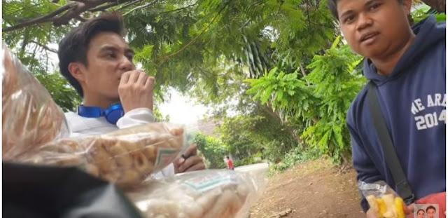 Tanpa Make Up Prank, Tukang Kerupuk Tetap Gak Kenal Baim Wong, Endingnya Bikin Nangis