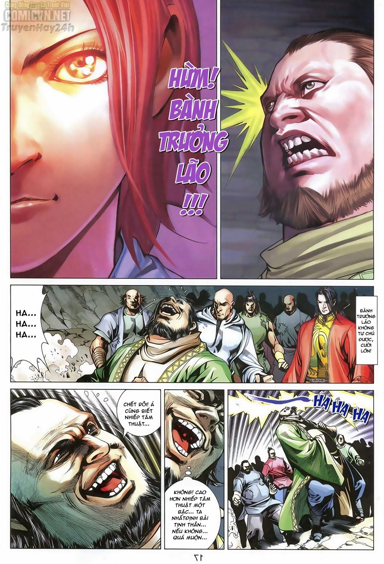 Anh Hùng Xạ Điêu anh hùng xạ đêu chap 68: di thư chân kinh - lừa tình trang 18