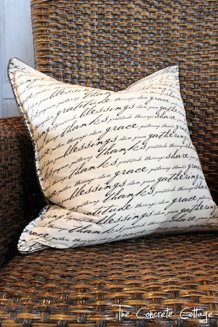 napkin pillows