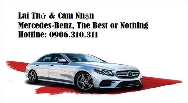 Đăng ký lái thử xe Mercedes tại Đại lý Mercedes