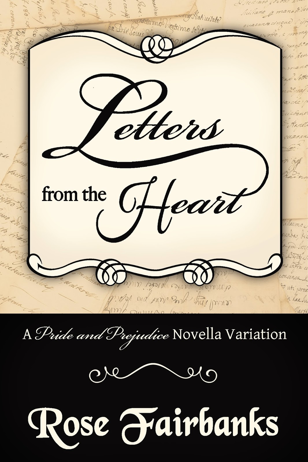 Book Cover - Letters from the Heart by Rose Fairbanks