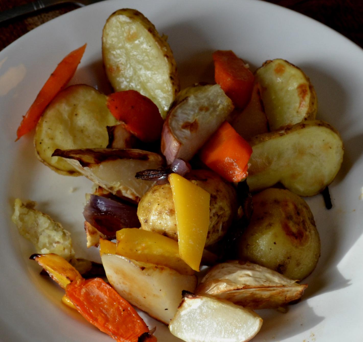 Makkelijk bijgerecht voor kerst: geroosterde groentes