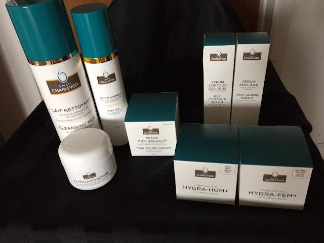 Émeu Charlevoix produits beauté crème exfoliant lait nettoyant crème anti-douleurs