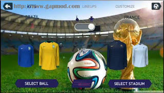 FIFA 14 Mod WORLD CUP RUSSIAN Apk + Obb