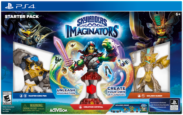 Skylanders Imaginations ages 6 and up