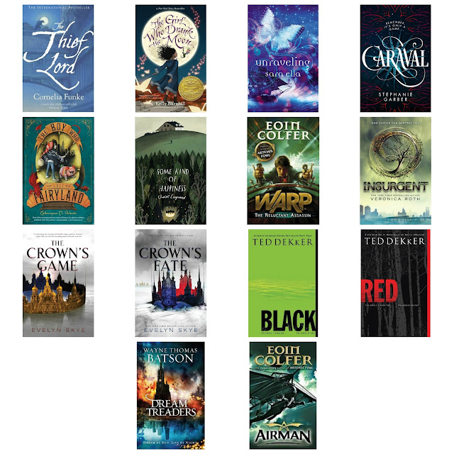 collage of the books I read in august