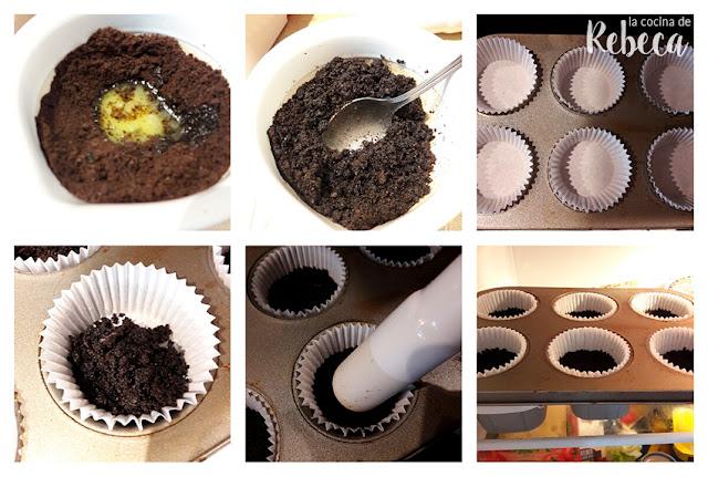 Receta de pasteles helados de galletas Oreo 02