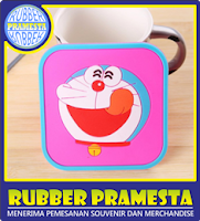 RUBBER COASTER CUSTOM | BIKIN RUBBER COASTER | BUAT RUBBER COASTER
