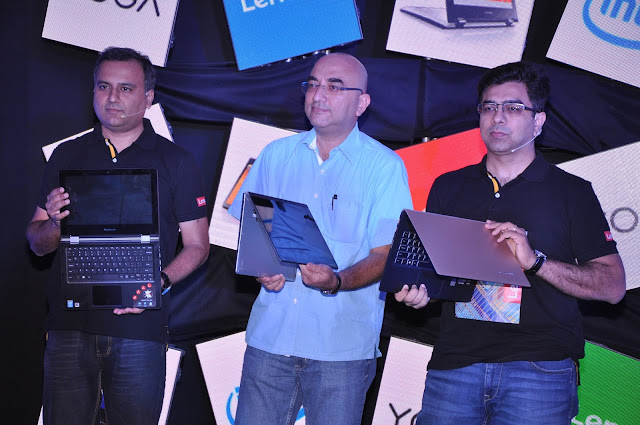 Lenovo launches a range of next generation of YOGA laptops in India