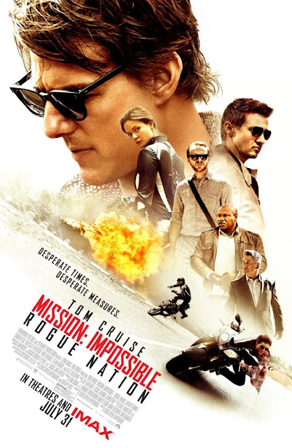 poster Mission Impossible - Rogue Nation 2015 Full Movie Download Dual Audio