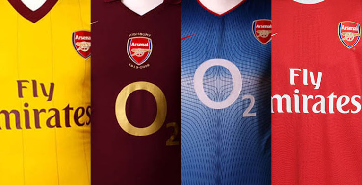 Our Top 10 Nike Arsenal Kits - Footy Headlines d09943593