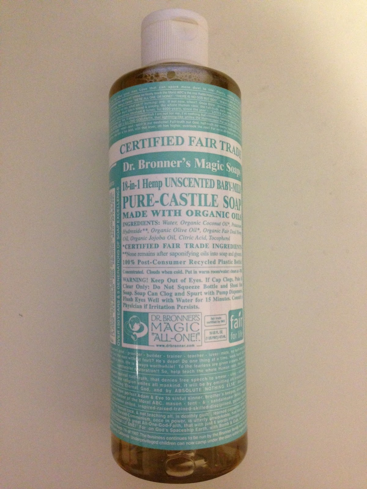 LonelyKiwee: REVIEW | DR  BRONNER'S CASTILE SOAP