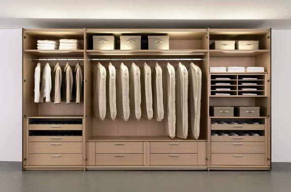 Contoh model lemari pakaian minimalis terbaru paling keren untuk rumah minimalis