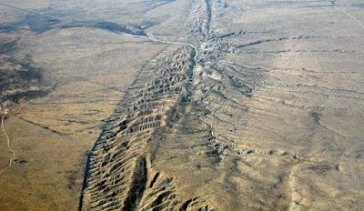 Patahan San Andreas California