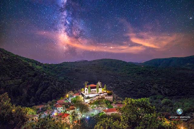 Μαγική νύχτα στον παραδοσιακό και διατηρητέο Πλαίσιο Θεσπρωτίας