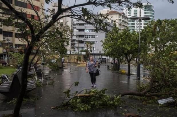 Hurricane Maria hammers island