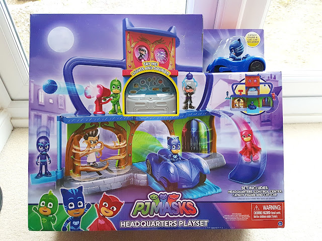 PJ Masks Headquarter Playset, Christmas gift idea for PJ Masks Fans, PJ Masks HQ