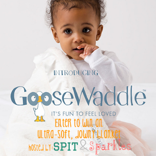 Enter to #win a luxuriously soft baby blanket from GooseWaddle! #giveaway