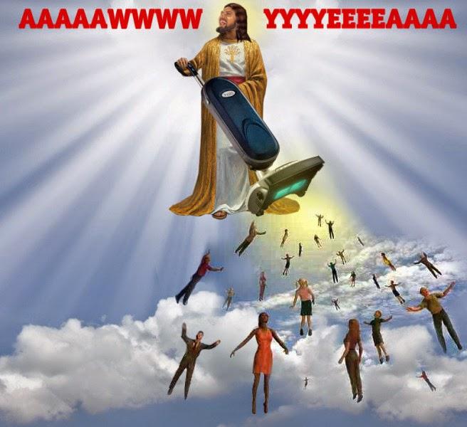 Jesus rapture hoover picture