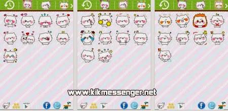 Descarga y enviar Emoticonos and Sticker for Kik en tu Android