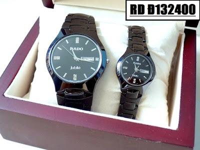 Đồng hồ đeo tay cặp đôi dây đá Rado RD Đ132400