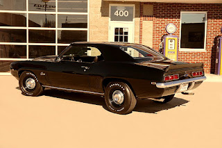 1969 Chevrolet Camaro COPO Clone Rear Left