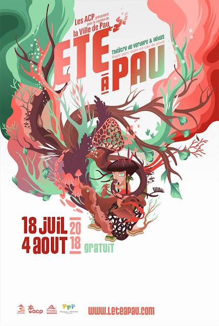 Festival de l'été à Pau 2018