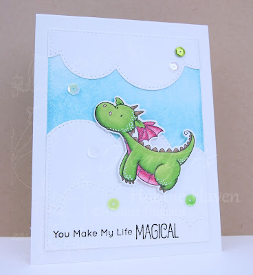 Heather's Hobbie Haven - Just for Fun Saturday - Magical Dragons Card