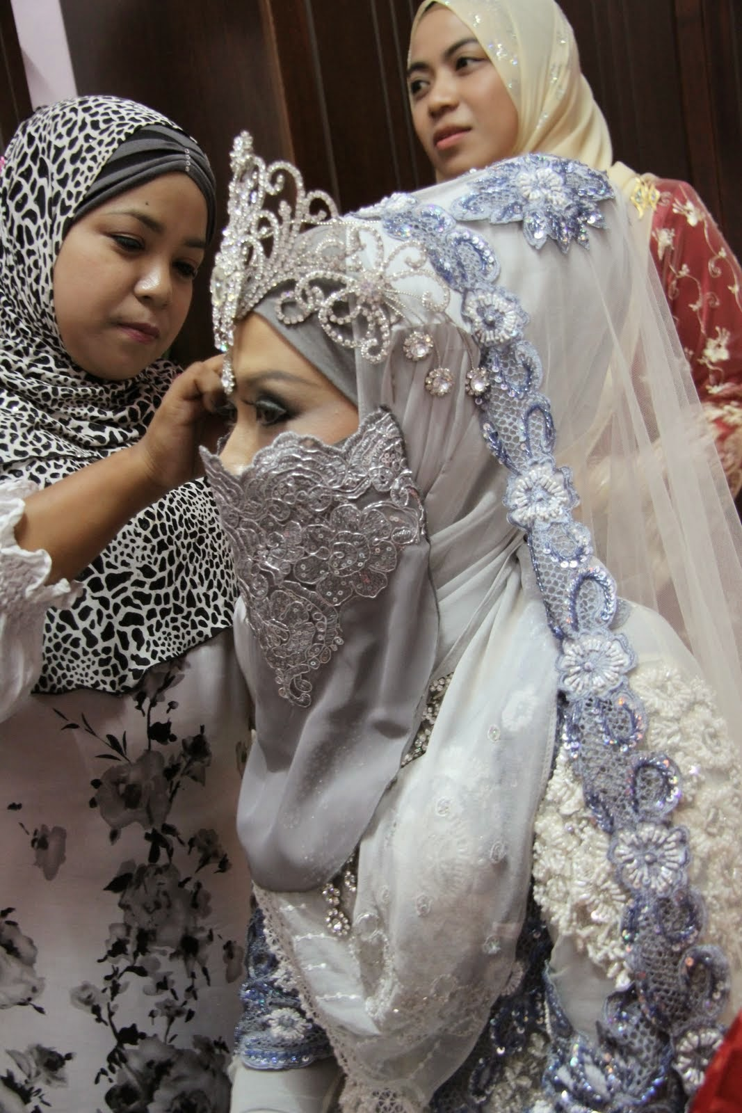 Photo Model Hijab Pengantin Arab  Modernhijab9