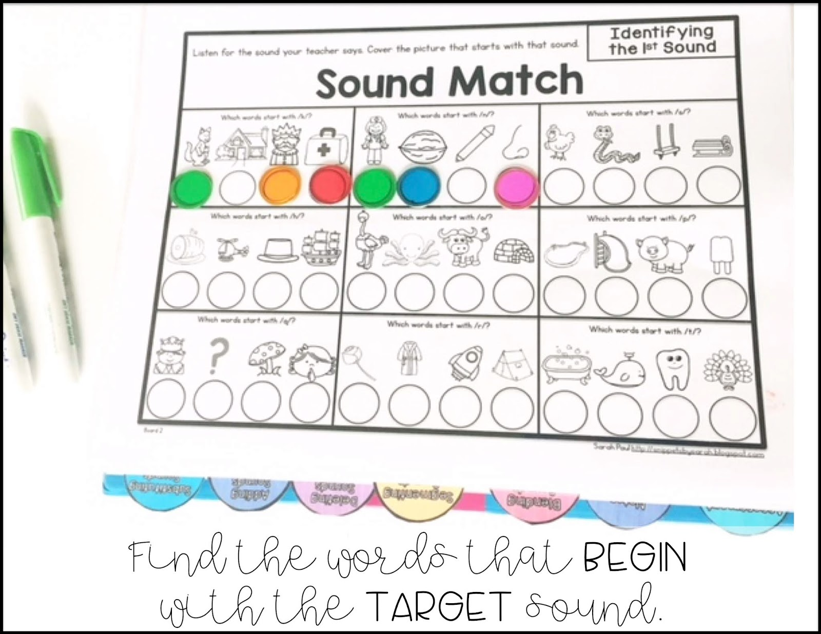 Sarah S First Grade Snippets Phonemic Awareness Rti
