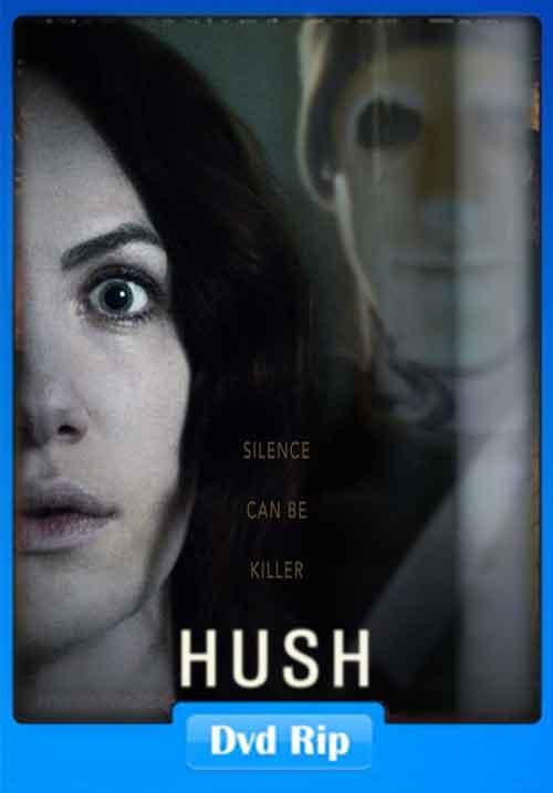 Hush 2016 DVDRip 480p 200MB Poster