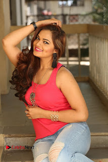 Tollywood Actress Ashwini Latest Stills in Ripped Jeans  0166.JPG