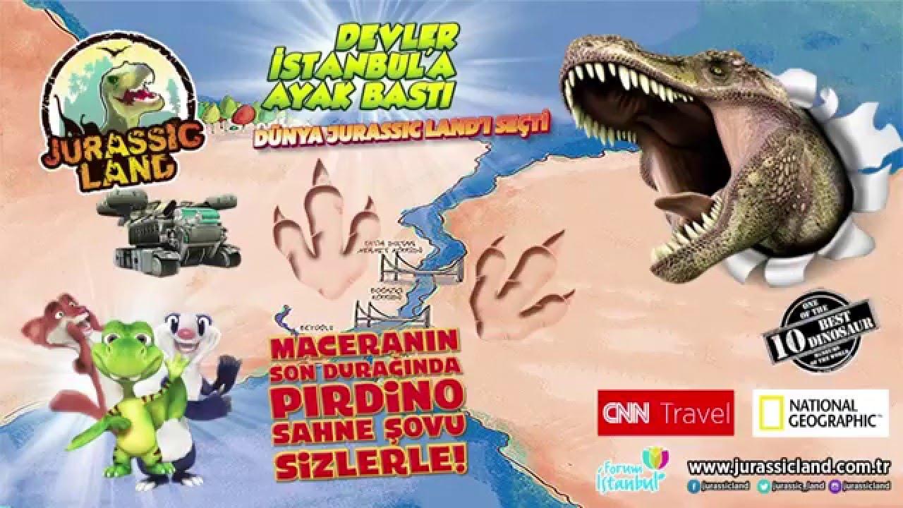 Çocuklar yarıyıl tatilinde Jurassic Land'ı keşfedecek 3
