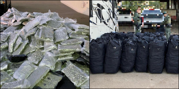 Nearly 1,000 pounds of marijuana and 2,000 vaping cartridges seized in Texas traffic stop