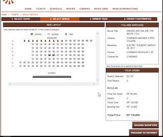 Cara Cek Jadwal Film Di Cinemaxx Theater Secara Online