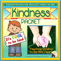 Kindness Character Education - Social Skills Teaching Packet