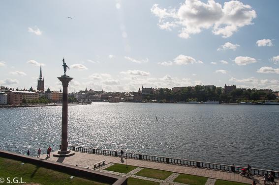 Vista desde ayuntamiento de Estocolmo