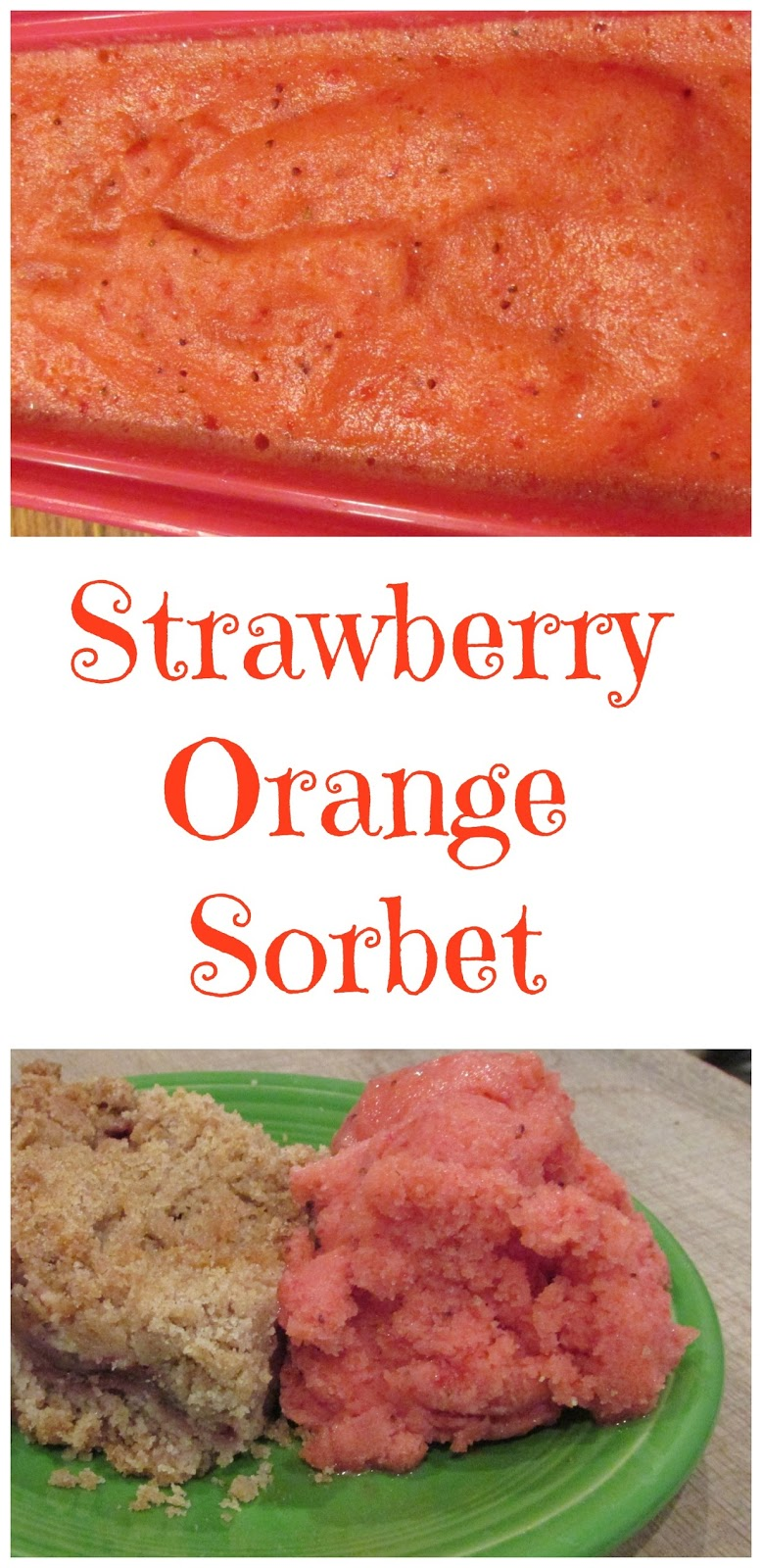... delicious sorbet. You won't believe how easy (or delicious) this is