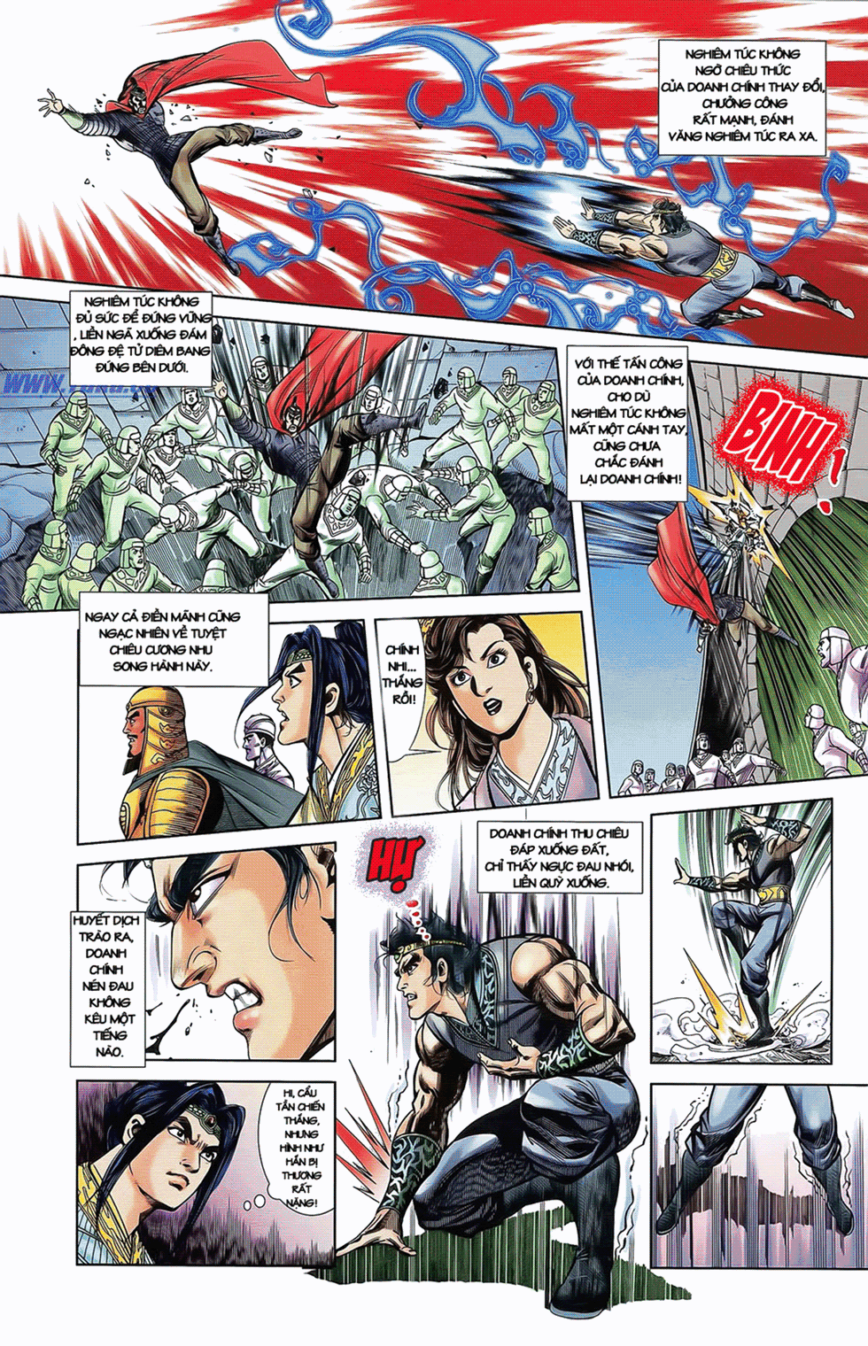 Tần Vương Doanh Chính chapter 11 trang 19