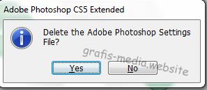 Cara gampang mengembalikan pengaturan awal photoshop Cara Praktis Mengembalikan Pengaturan Awal Photoshop