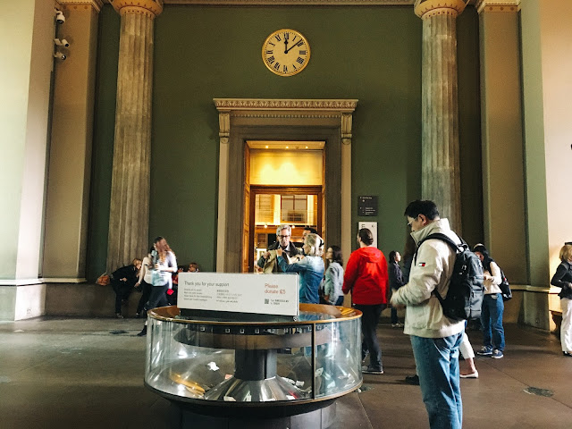 大英博物館(British Museum) エントランス