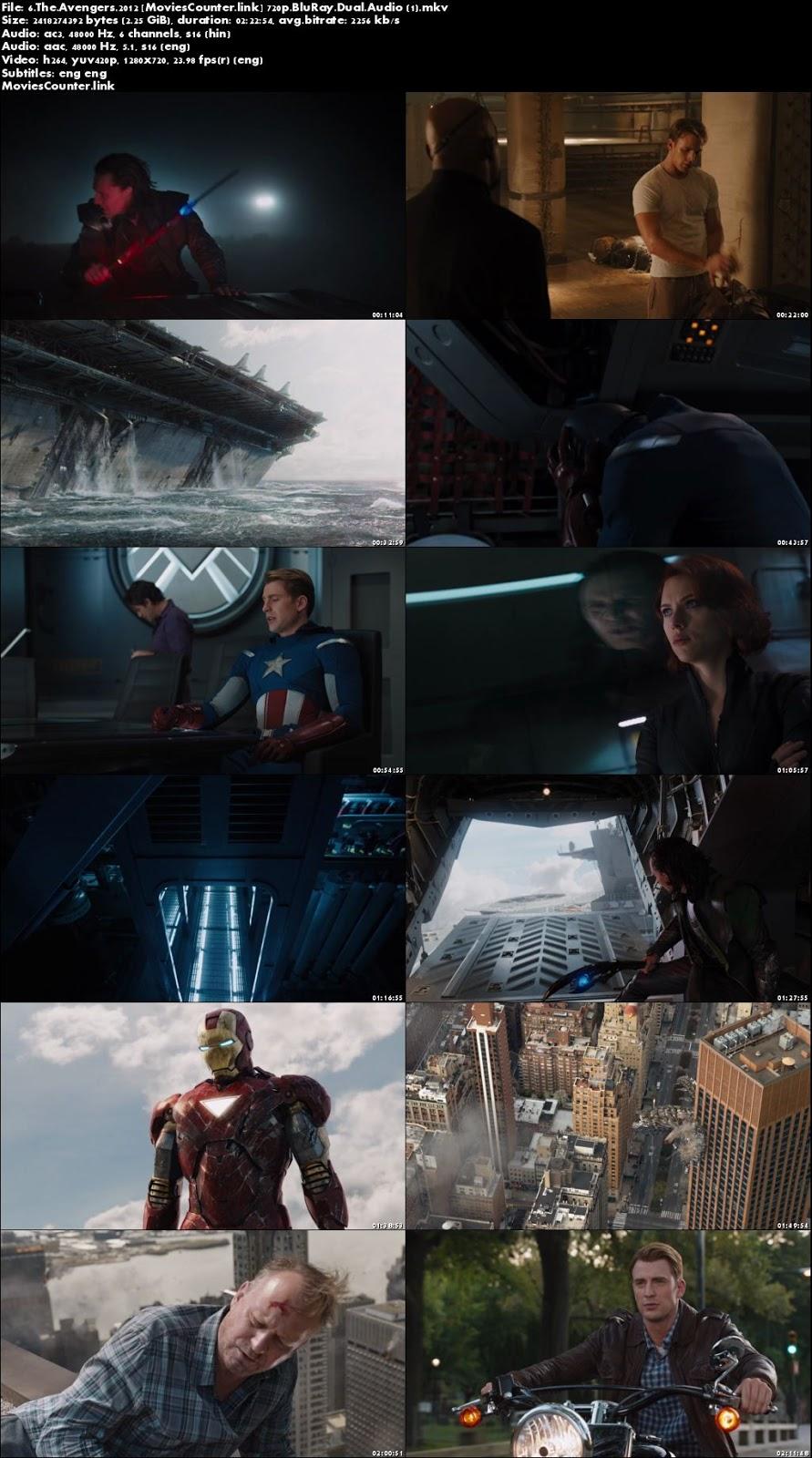 Screen Shot The Avengers 2012 Dual Audio HD 720p