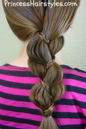 braid in a braid hairstyle  hairstyles for girls
